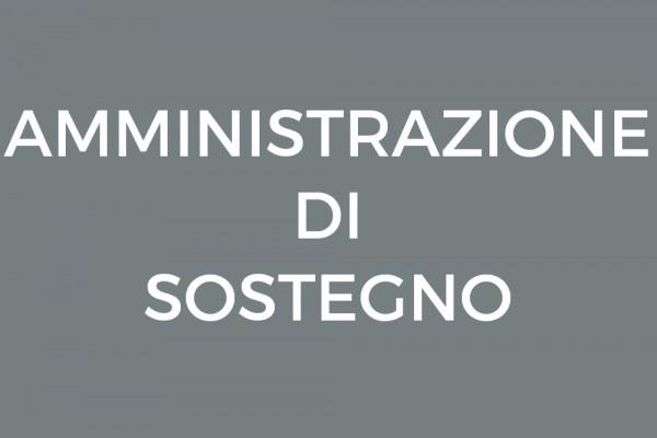 Assistenza legale per l'amministrazione di sostegno